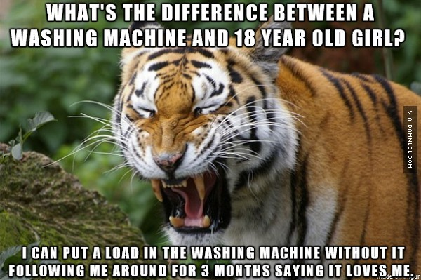 Inappropriate Tiger Jokes That Are So Filthy, They Aren't Appropriate