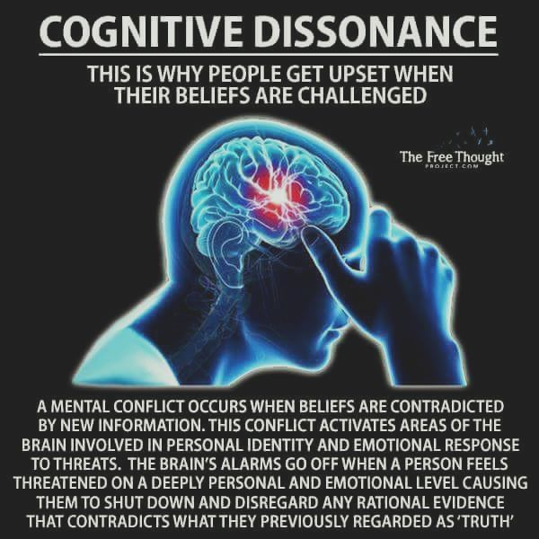 Cognitive Dissonance explanation