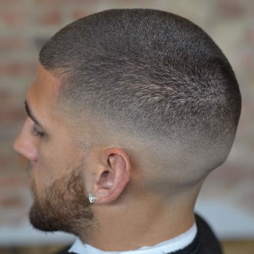 Fade on complete hair
