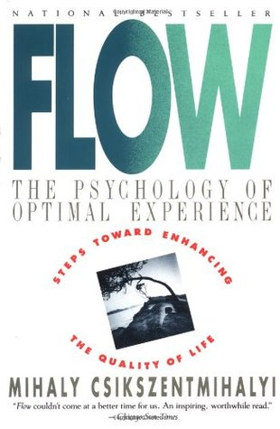 Front cover of Flow the psychology of optimal experience by Mihaly Csikszentmihalyi book