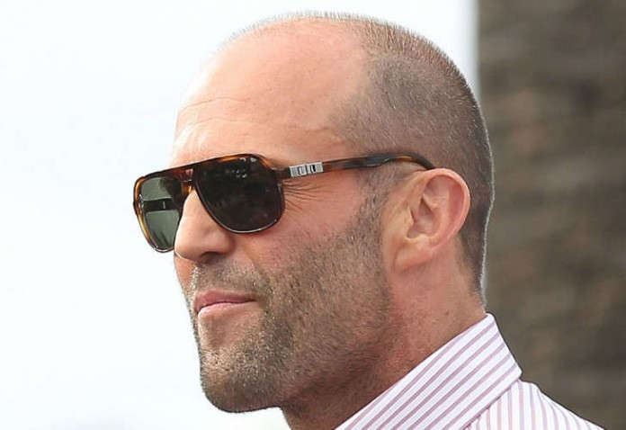 Jason Statham receding hairline
