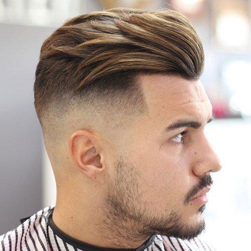 Side Fade cut