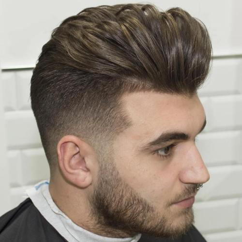Side hairstyle boys