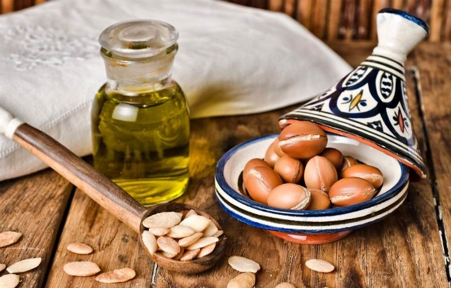 argan oil hair tips for healthy hair