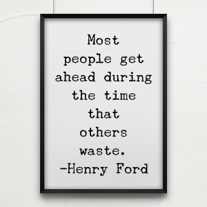 Famous quote by Henry Ford