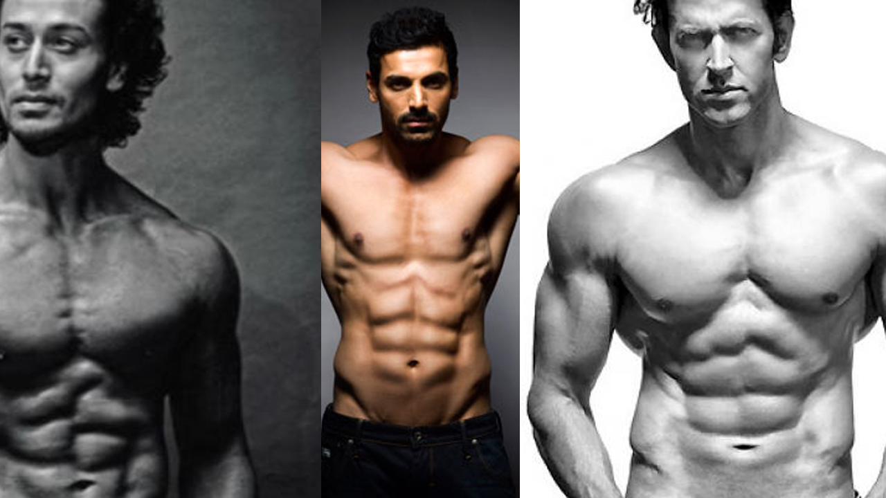 Bollywood Actors With Best Six Pack Abs