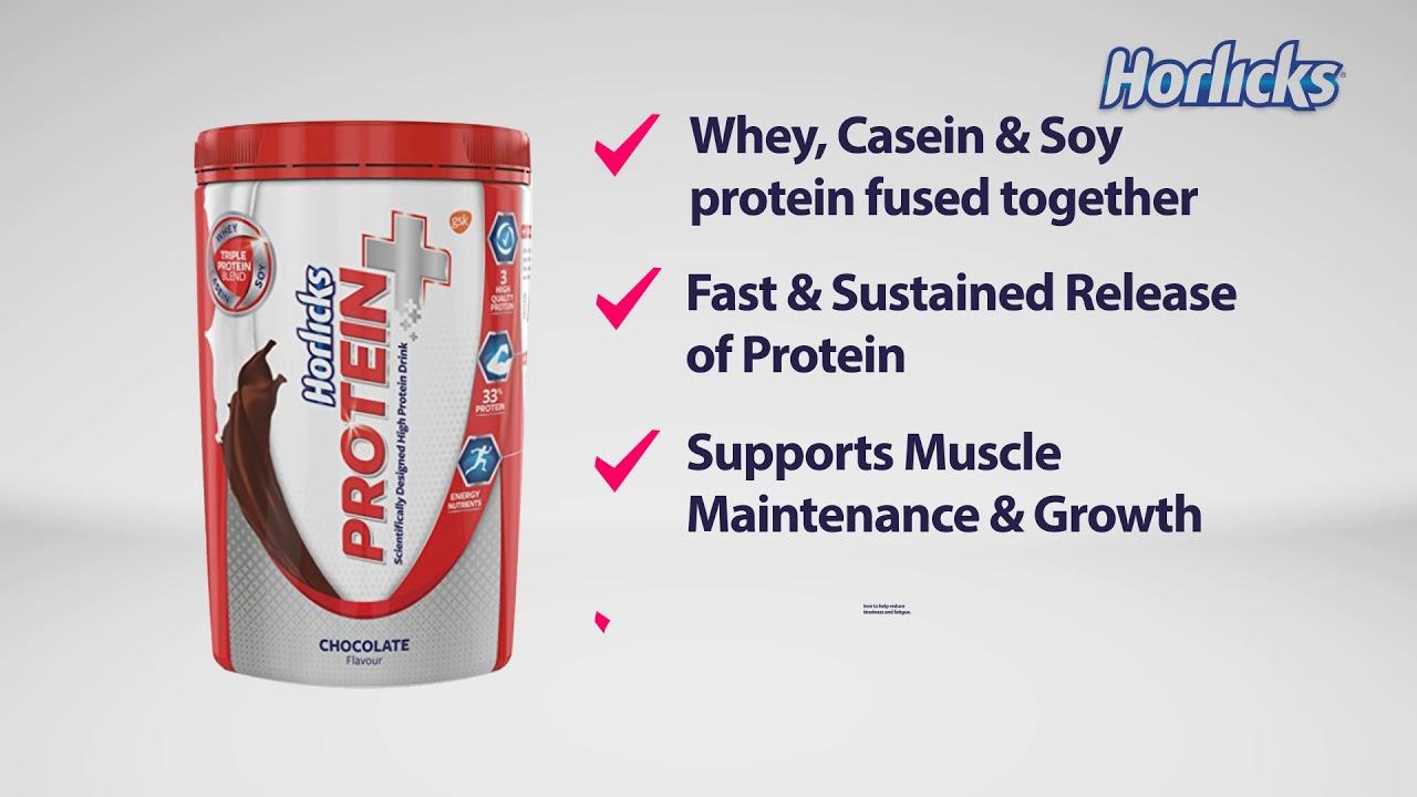 Horlicks Protein+ protein information