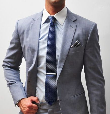 men first day to work suit