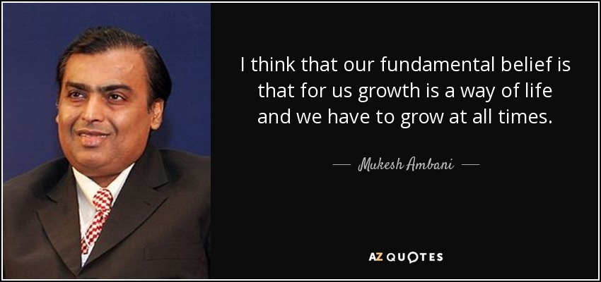 mukesh ambani quotes for inspiration