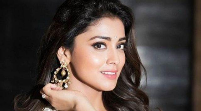 Shriya Saran looking cute