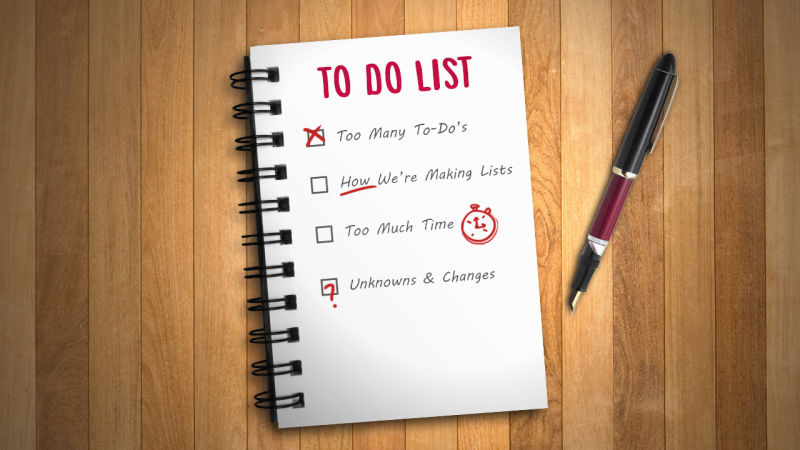 to do list for success and money