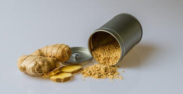 Ginger - Belly fat burning foods