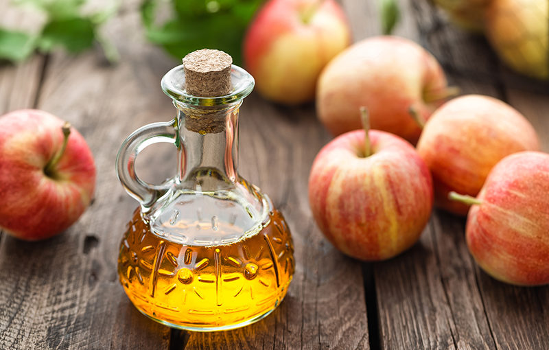 Apple cider vinegar - Belly fat burning foods