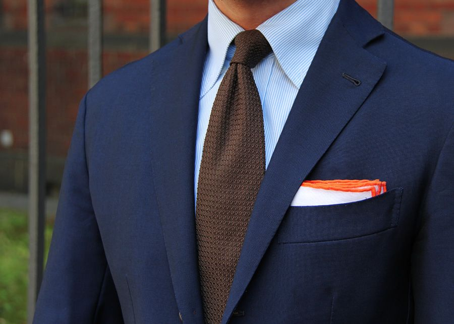 Suit Tie And Pocket Squares