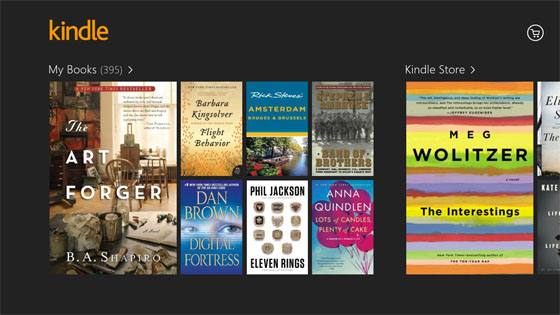 Amazon Kindle library