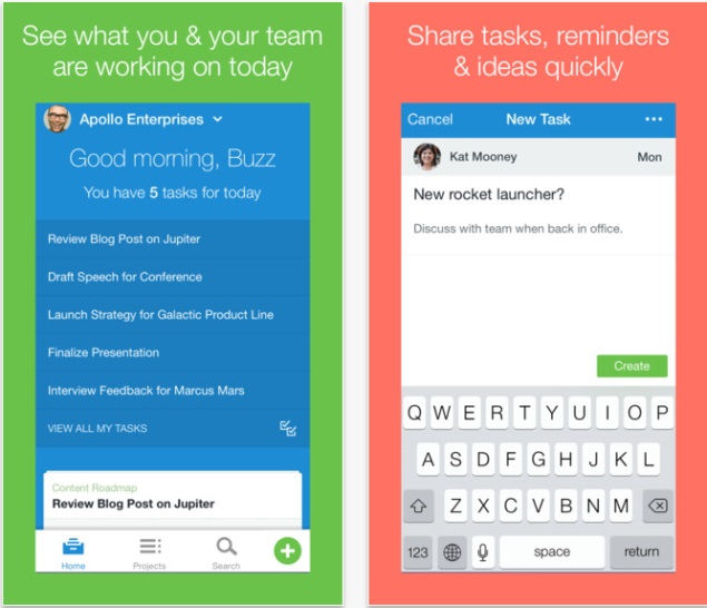 asana must-have iPhone app