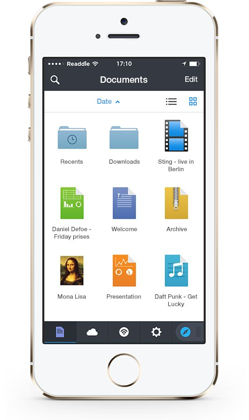 Documents IOS app