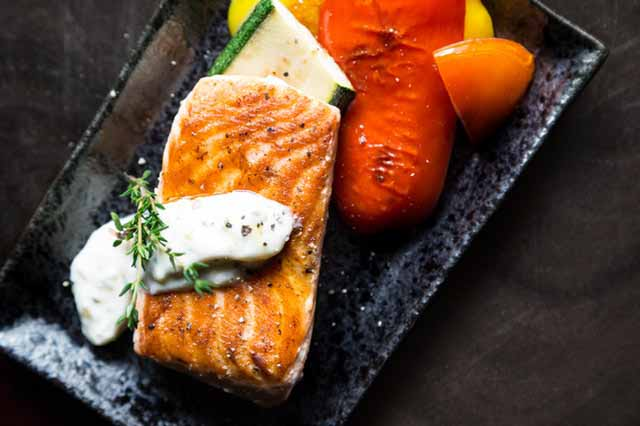 Salmon - Foods for better eyesight