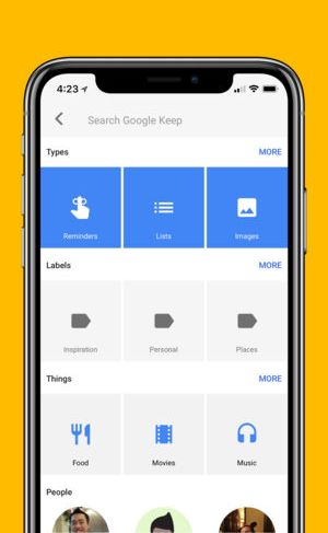 Google keep must have app