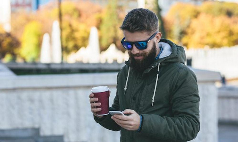 Man texting a girl