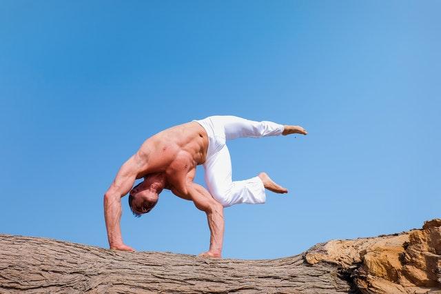 Mens yoga poses