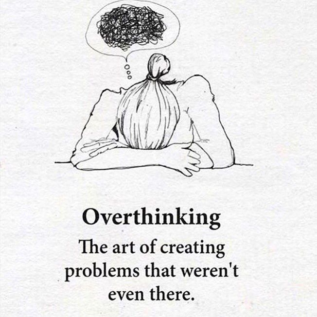 Overthinking quote