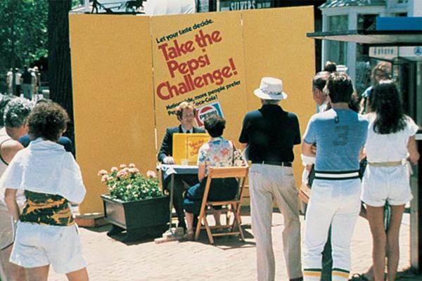 Pepsi challenge on beliefs
