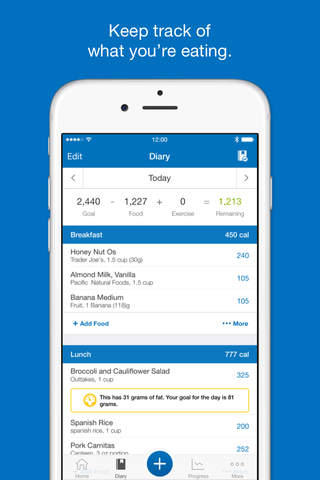 MyFitnessPal top iPhone app