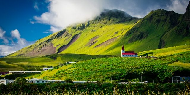 Iceland during summer