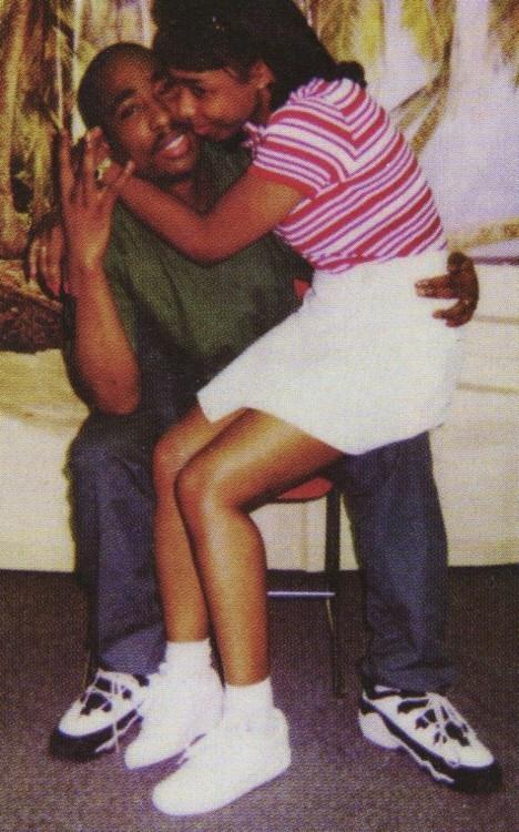 keisha morris and tupac married