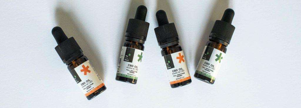 CBD oil small bottles