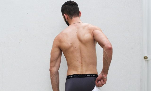 Men wearing shapewear