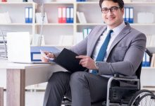 A man with Disability Inclusion