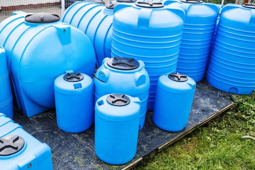 Emergency Water Supply tanks