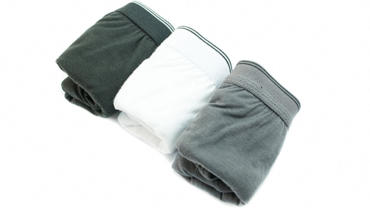 Men's pack of three underwear
