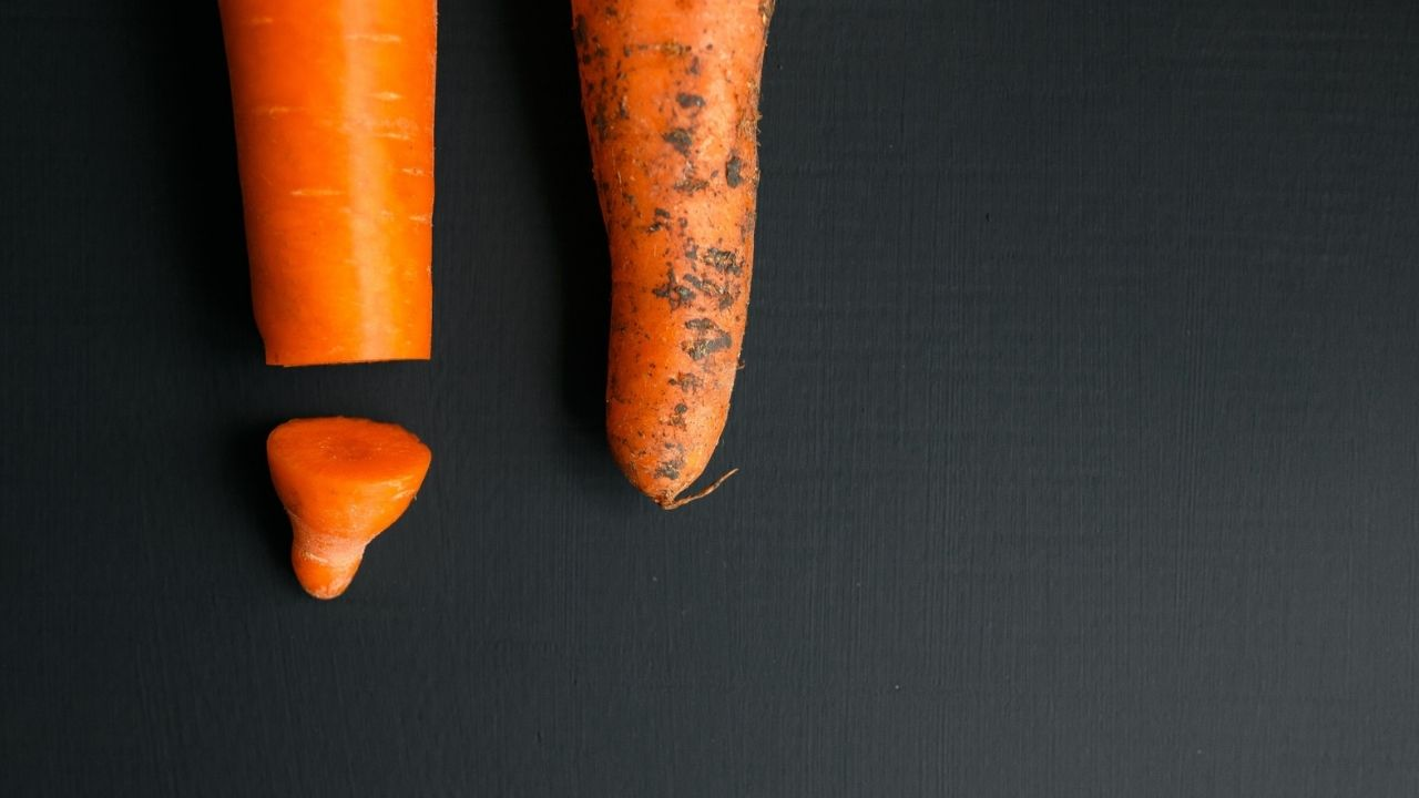Circumcised Penis depicted with a carrot (1)